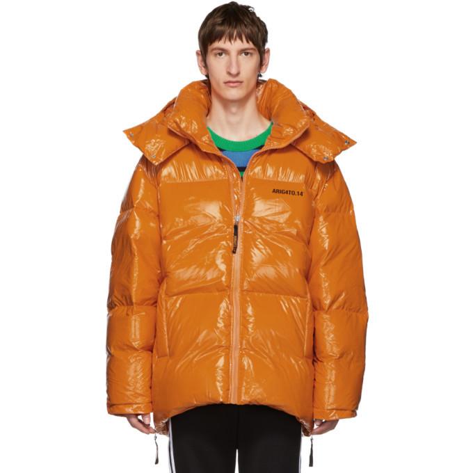 Photo: Axel Arigato Orange Down Nunatak Puffer Jacket