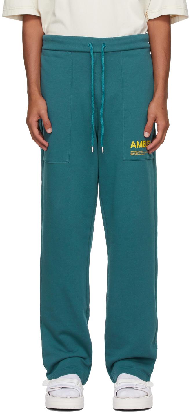 Photo: AMBUSH Blue 'Workshop' Lounge Pants