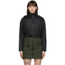 MCQ Black Detachable Hood Jacket
