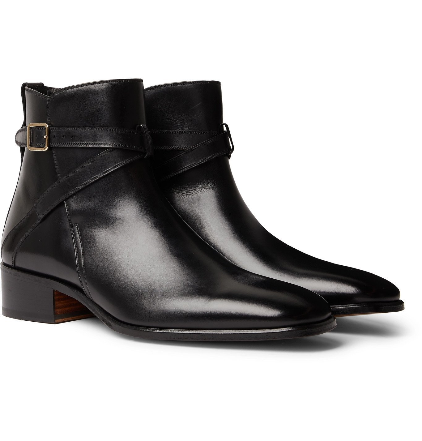 TOM FORD - Rochester Leather Chelsea Boots - Black