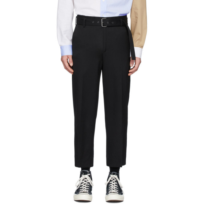 Photo: JW Anderson Black Belted Tailored Trousers