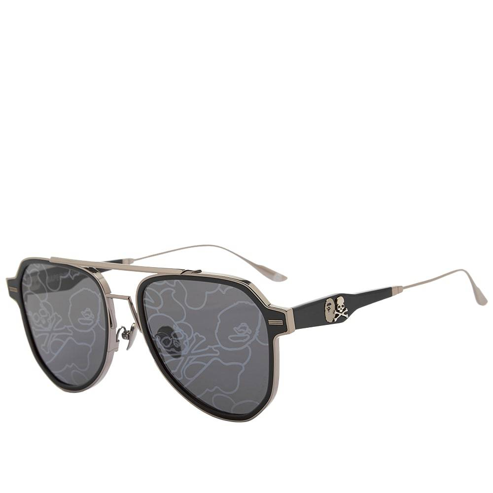 Photo: A Bathing Ape Eyewear x MASTERMIND WORLD BMJ005 V2.0 Sunglasses