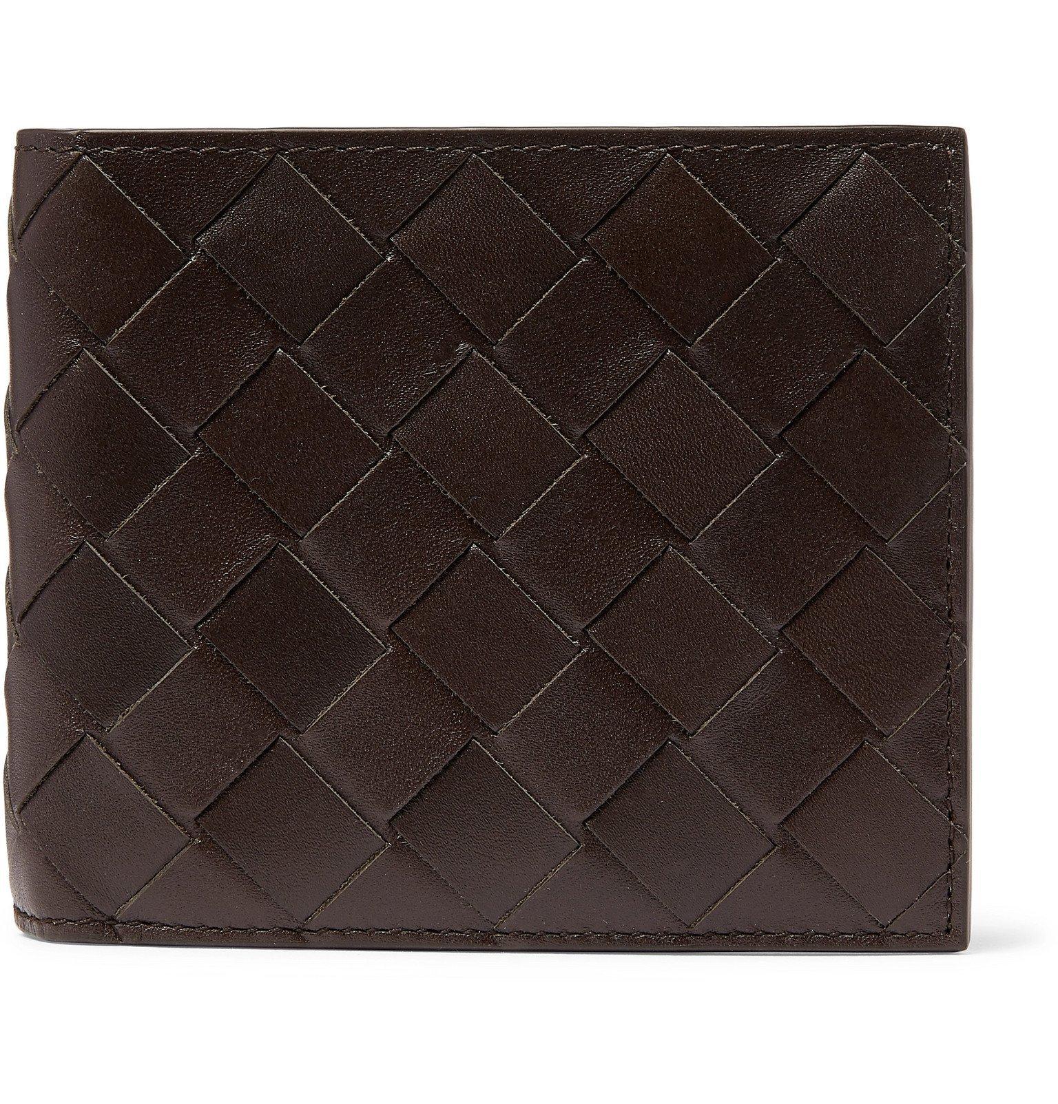 Photo: Bottega Veneta - Intrecciato Leather Billfold Wallet - Brown