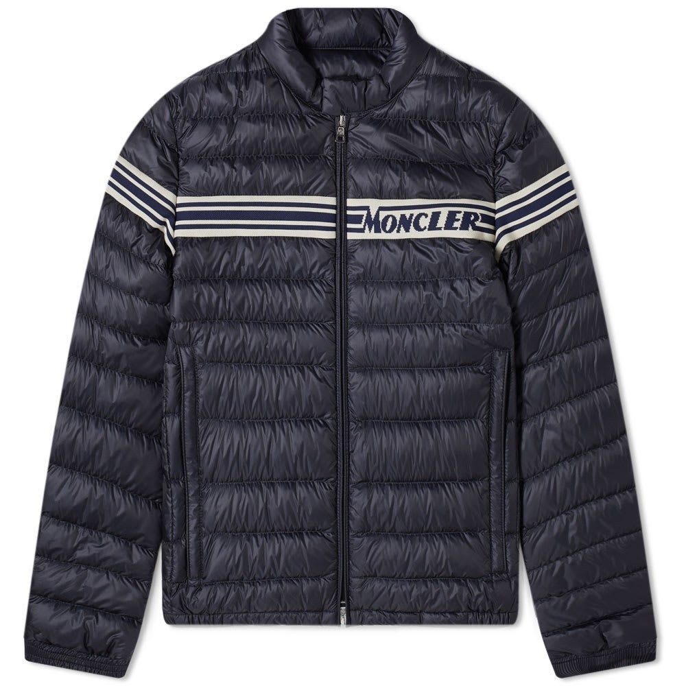 Photo: Moncler Renald Knit Insert Down Jacket