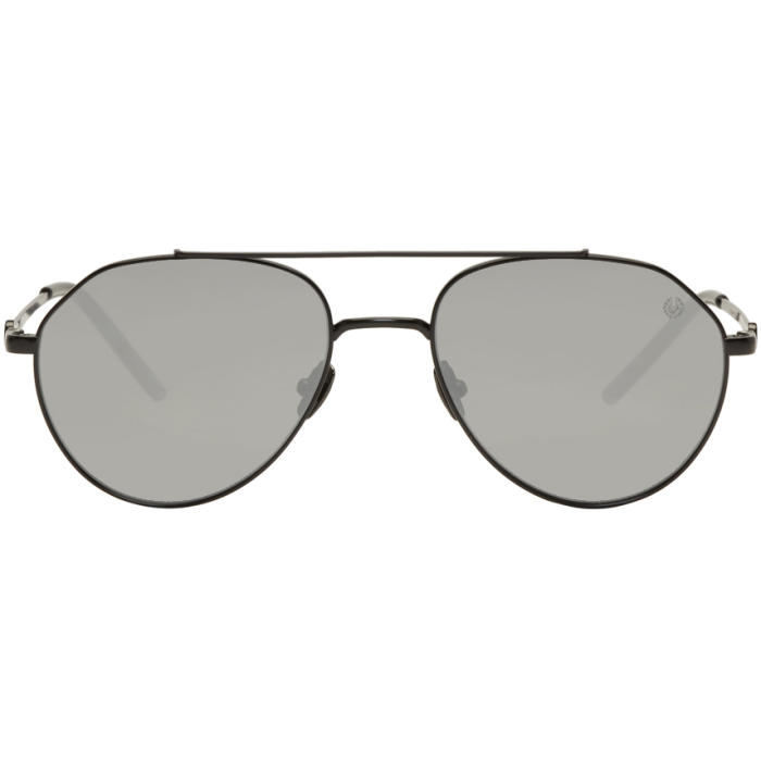Photo: Belstaff Black Roadmaster Sunglasses