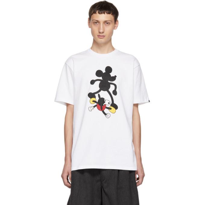Vans White Disney Edition Mickeys 90th Birthday T Shirt