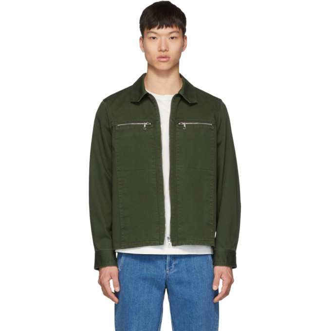 Photo: A.P.C. Khaki Oahu Jacket