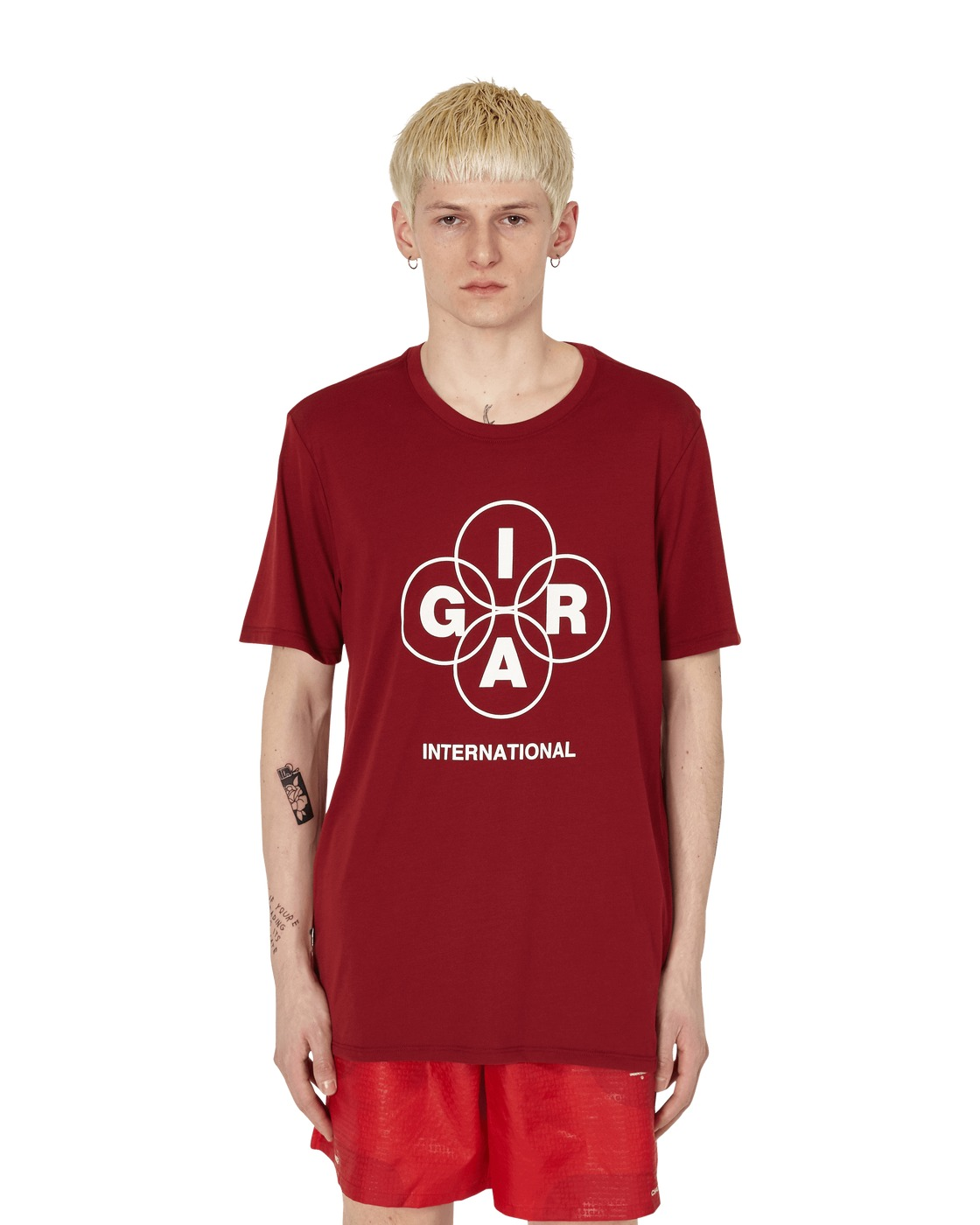 Nike Special Project Graphic T Shirt 1 Team Red/Sail