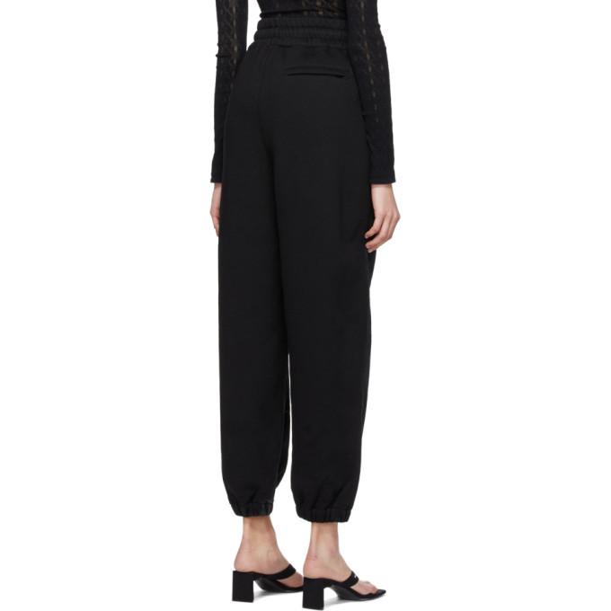 alexanderwang.t Black Hybrid Lounge Pants