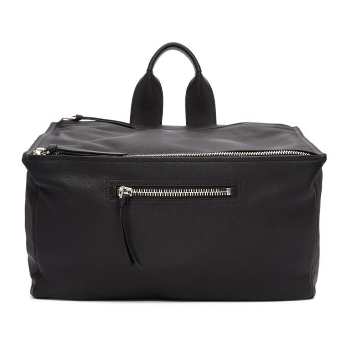 Photo: Givenchy Black Leather Pandora Messenger Bag
