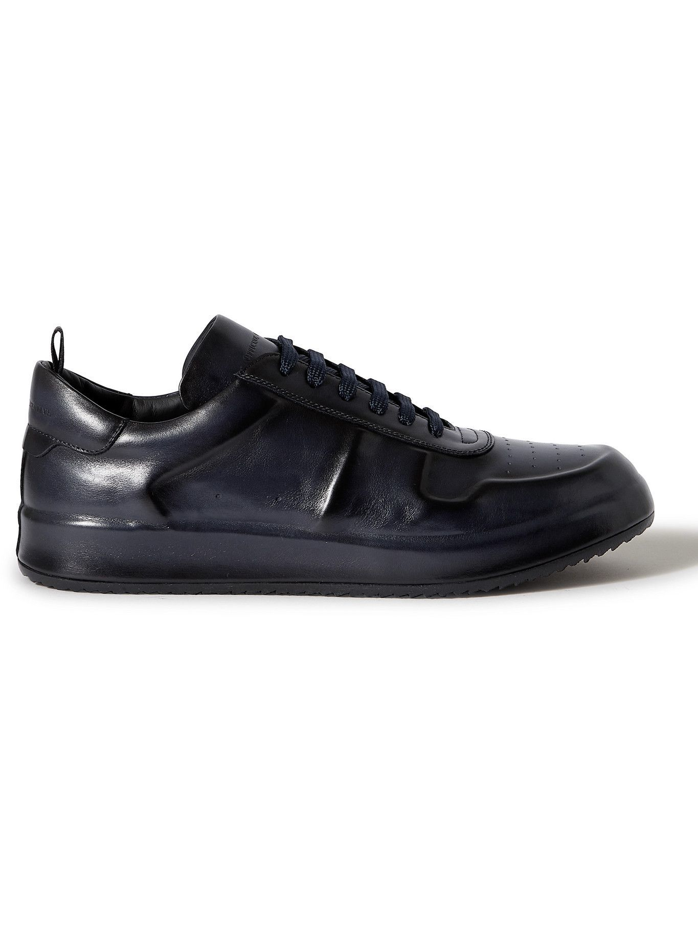 Photo: OFFICINE CREATIVE - Ace Lux Leather Sneakers - Blue