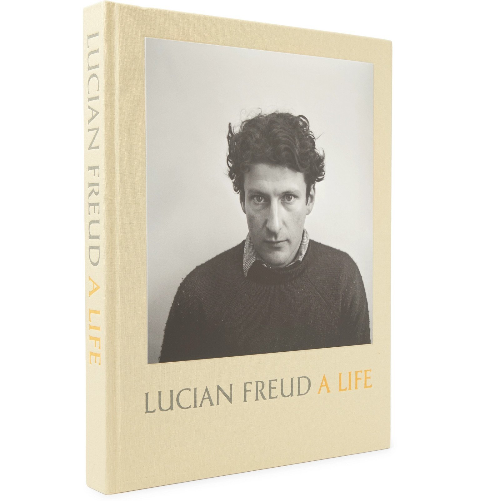 Photo: Phaidon - Lucian Freud: A Life Hardcover Book - Yellow