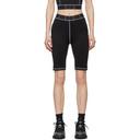 MCQ Black Base Layer Cycling Shorts