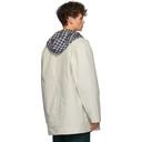 Martine Rose Beige Short Mac Coat