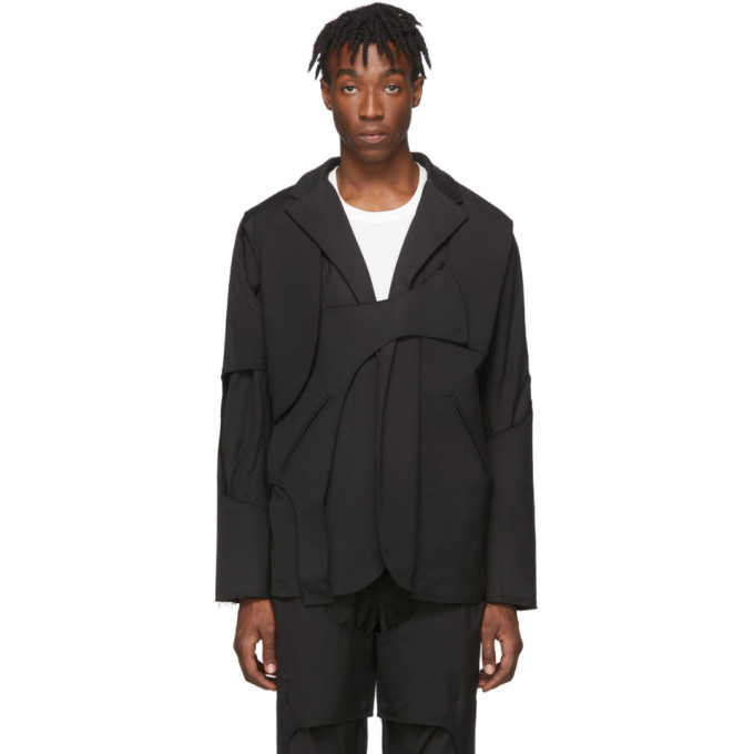 Photo: Post Archive Faction PAF Black 2.0 Tailored Center Jacket
