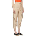 Stella McCartney Beige Wool Adaline Cocoon Trousers