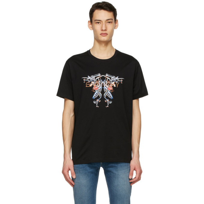 Photo: Givenchy Black Neon Lights T-Shirt