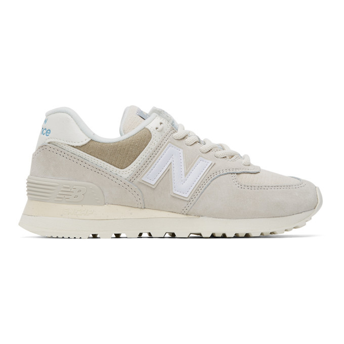 Photo: New Balance Beige 574 Sneakers
