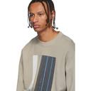 1017 ALYX 9SM Beige Graphic Crewneck Sweatshirt