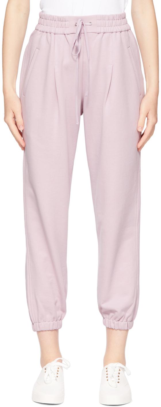 Photo: 3.1 Phillip Lim Pink Drawstring Lounge Pants