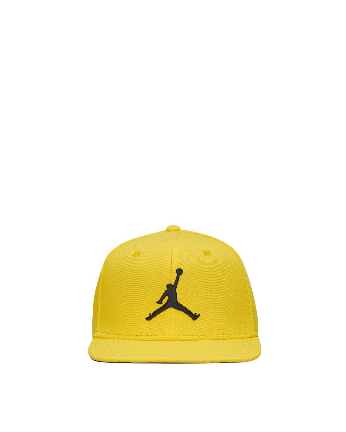 Photo: Nike Jordan Pro Jumpman Snapback Hat Tour Yellow/Black