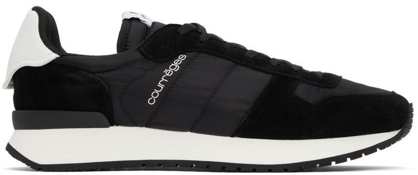Photo: Courrèges Black Casual Sneakers