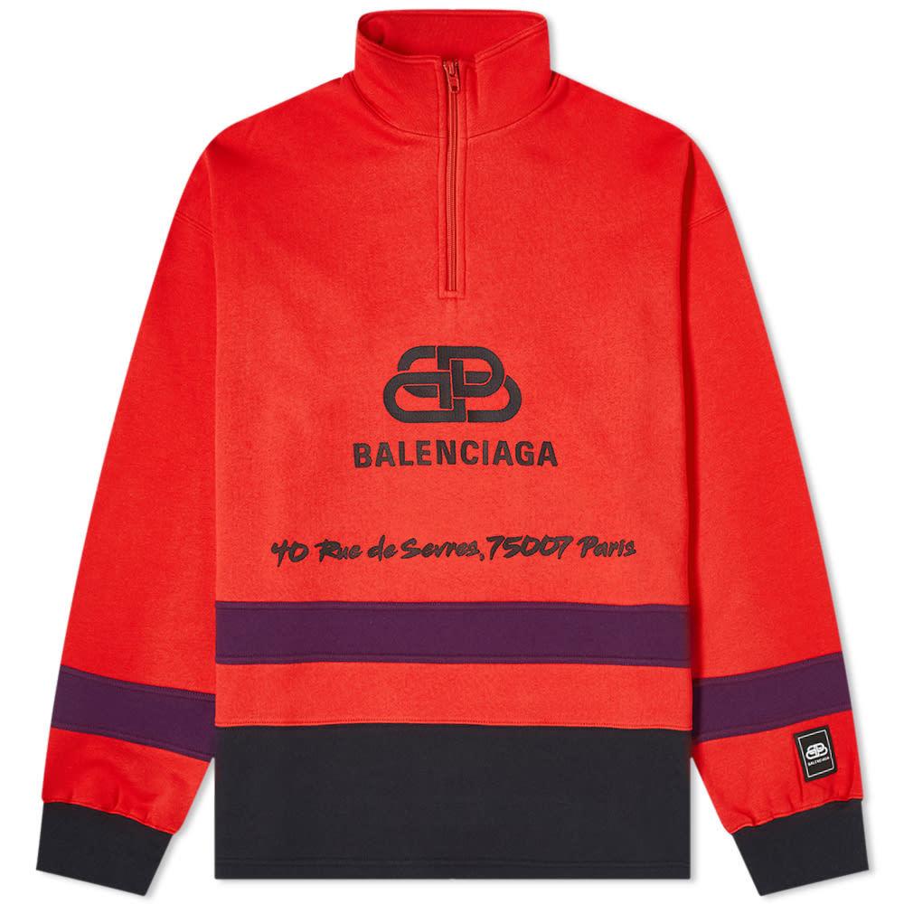 Photo: Balenciaga BB Ski Half Zip