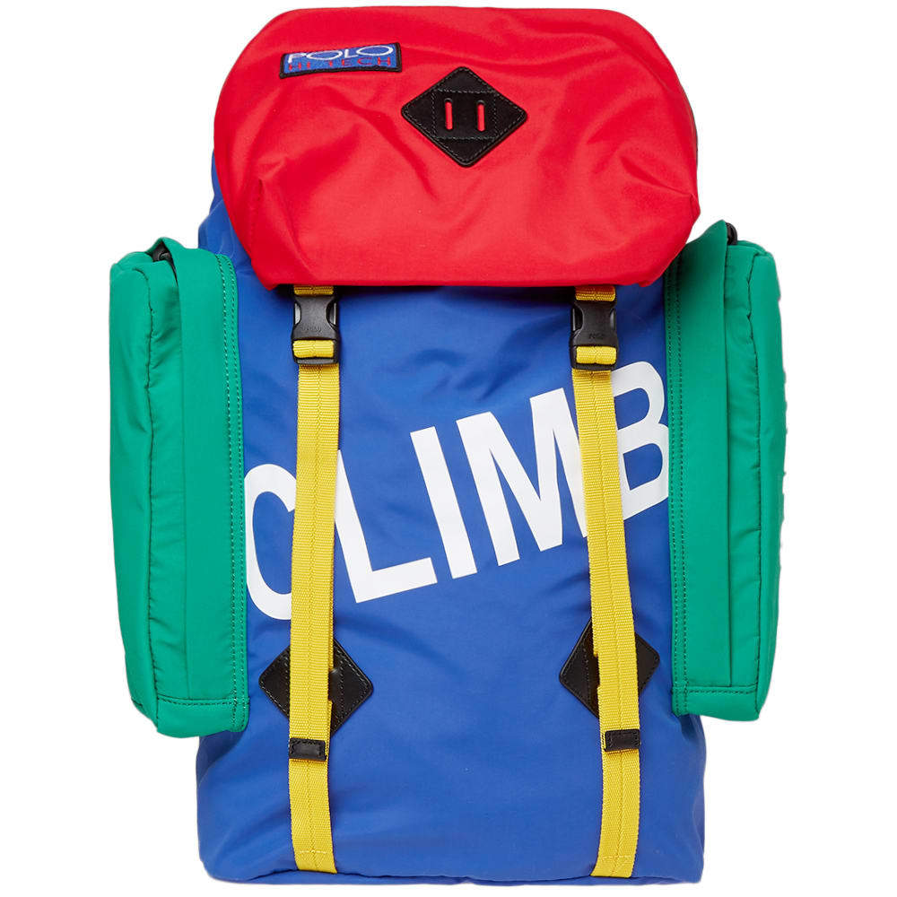 Photo: Polo Ralph Lauren Hi Tech Climb Backpack