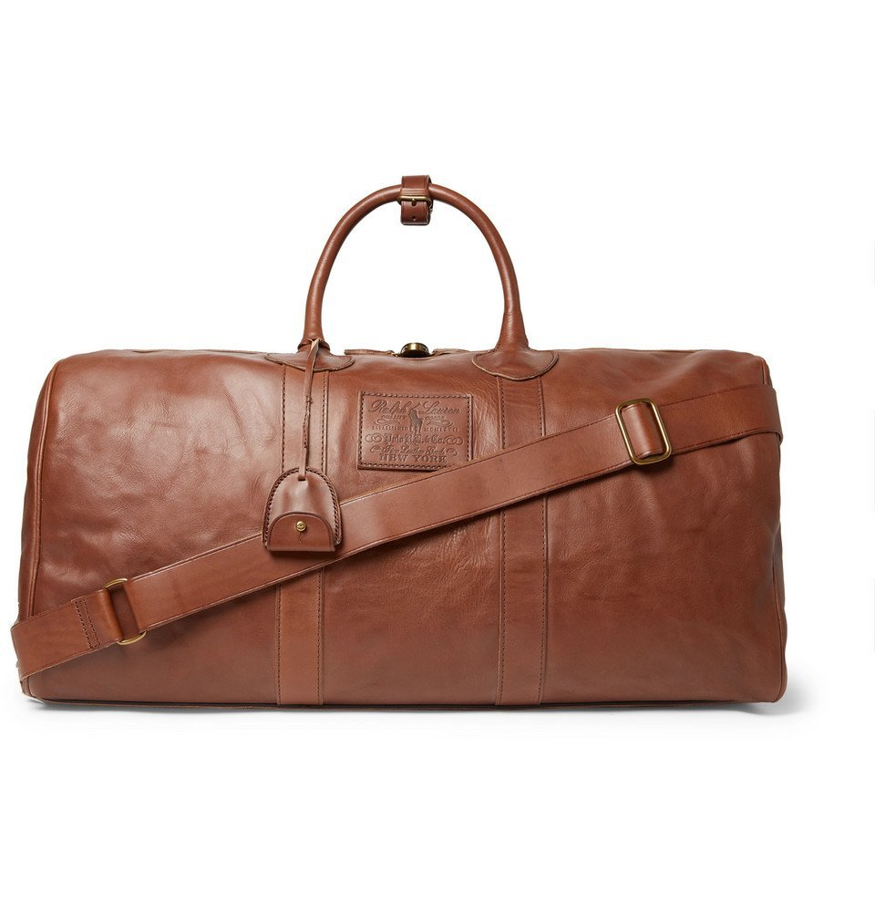Photo: Polo Ralph Lauren - Leather Holdall - Brown
