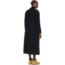 3.1 Phillip Lim Navy Wool Double-Faced Tailored Coat
