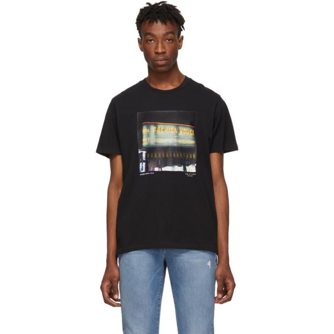Photo: rag and bone Black Fashion House T-Shirt