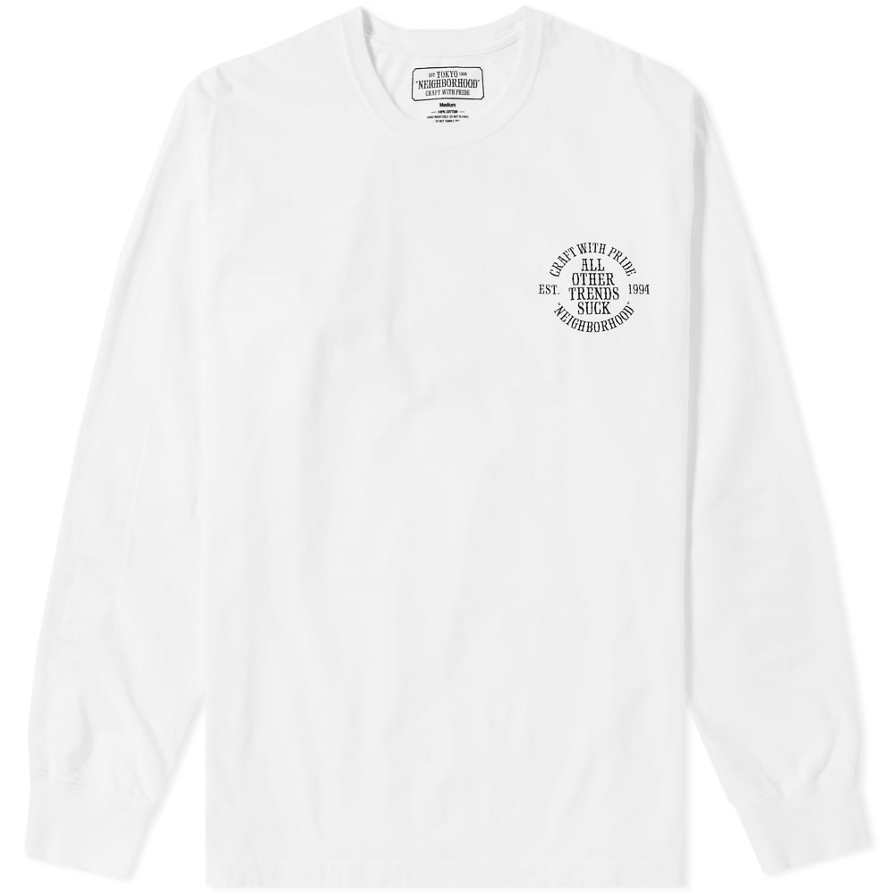 Photo: Neighborhood Long Sleeve Sucker Tee