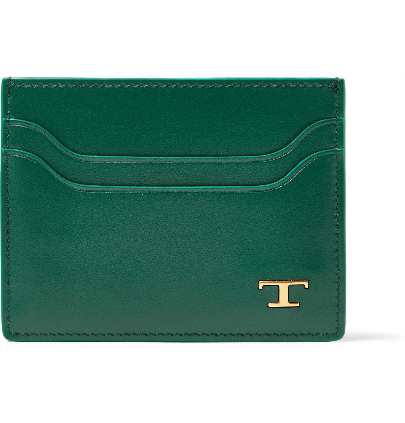 Tod's - Leather Cardholder - Green