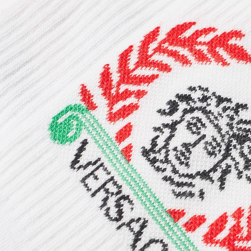 Versace Laurel Logo Sport Sock