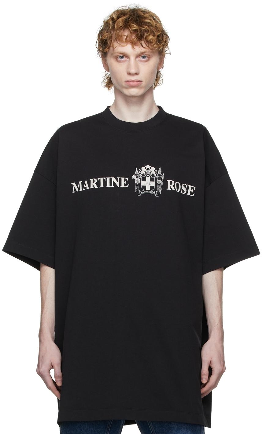 Photo: Martine Rose 'Quiet Riot' Logo T-Shirt