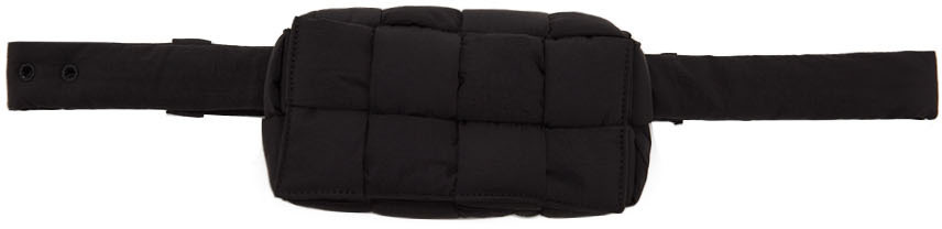 Photo: Bottega Veneta Black Cassette Bag