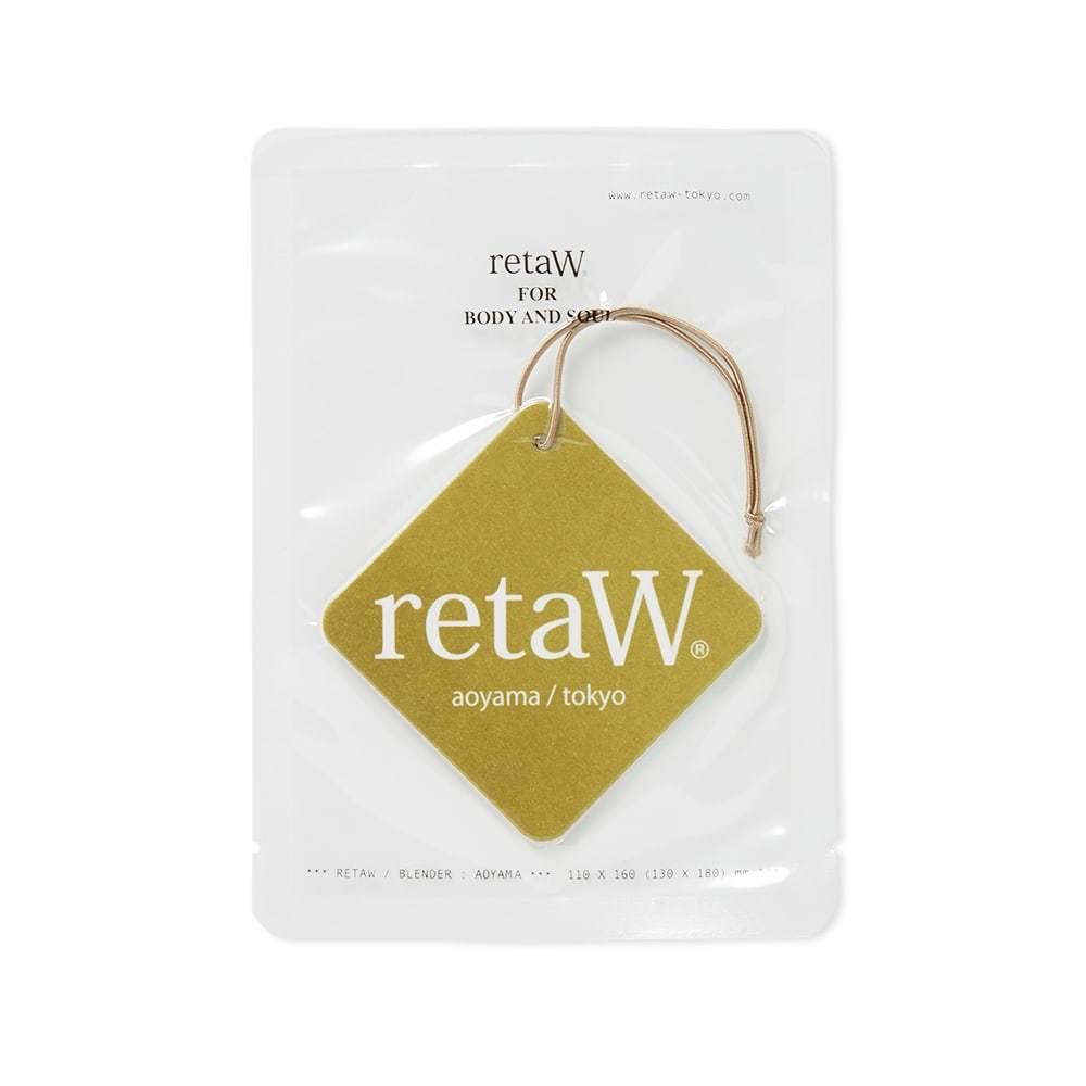 Photo: retaW Fragrance Car Tag