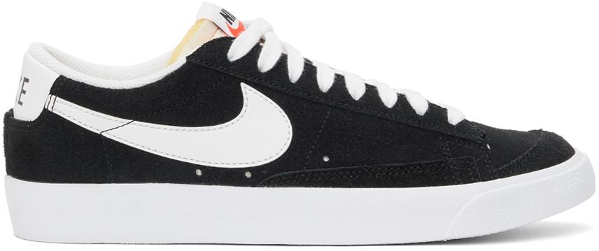 Photo: Nike Black Blazer Low '77 Sneakers