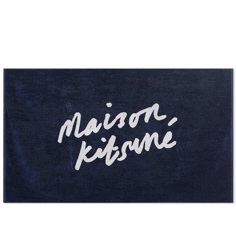 Photo: Maison Kitsuné Parisien Beach Towel