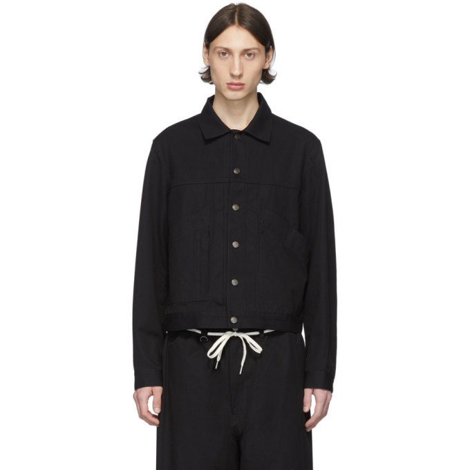 Photo: Y-3 Black Canvas Workwear Jacket