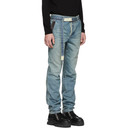 Sacai Blue Belt Jeans