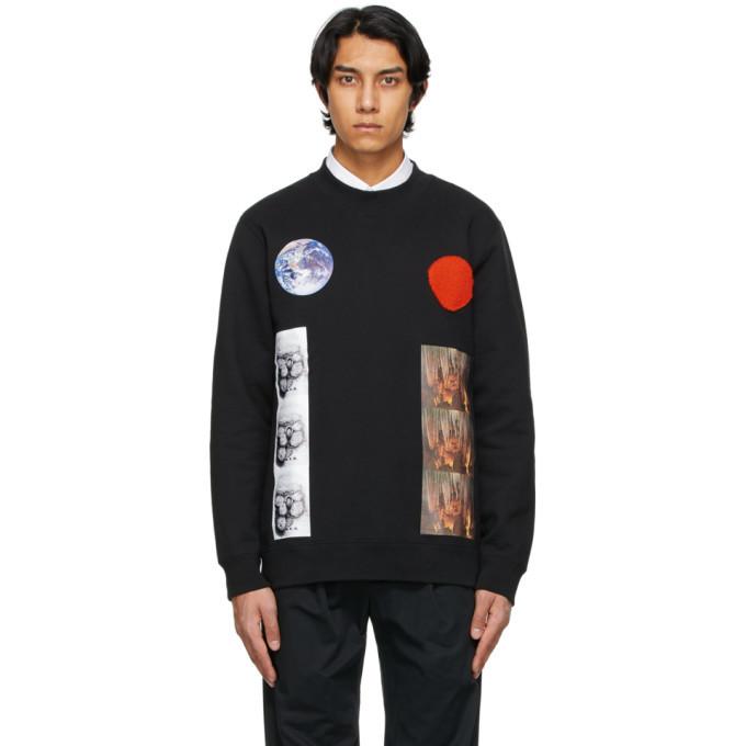 Photo: Raf Simons Black Sterling Ruby Edition Patches Sweatshirt
