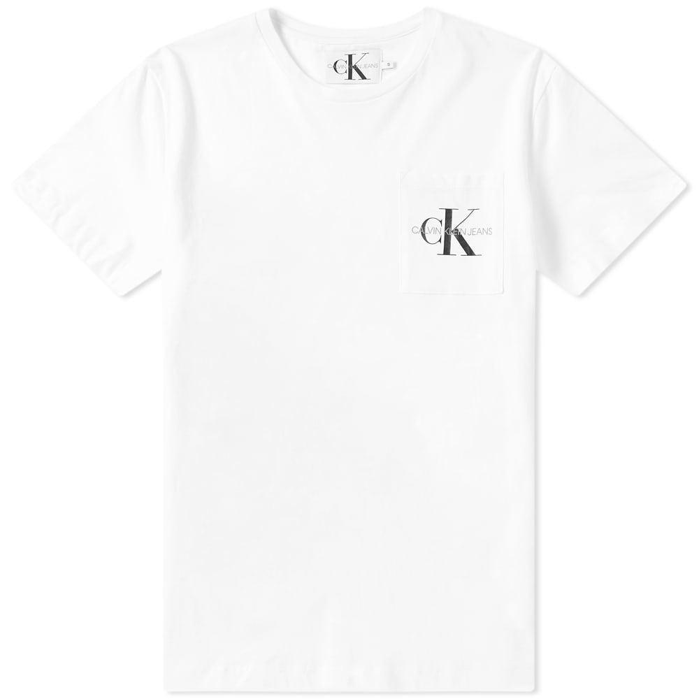 Photo: Calvin Klein Monogram Pocket Logo Tee