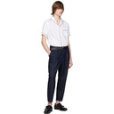 Giorgio Armani Indigo Classic Trousers