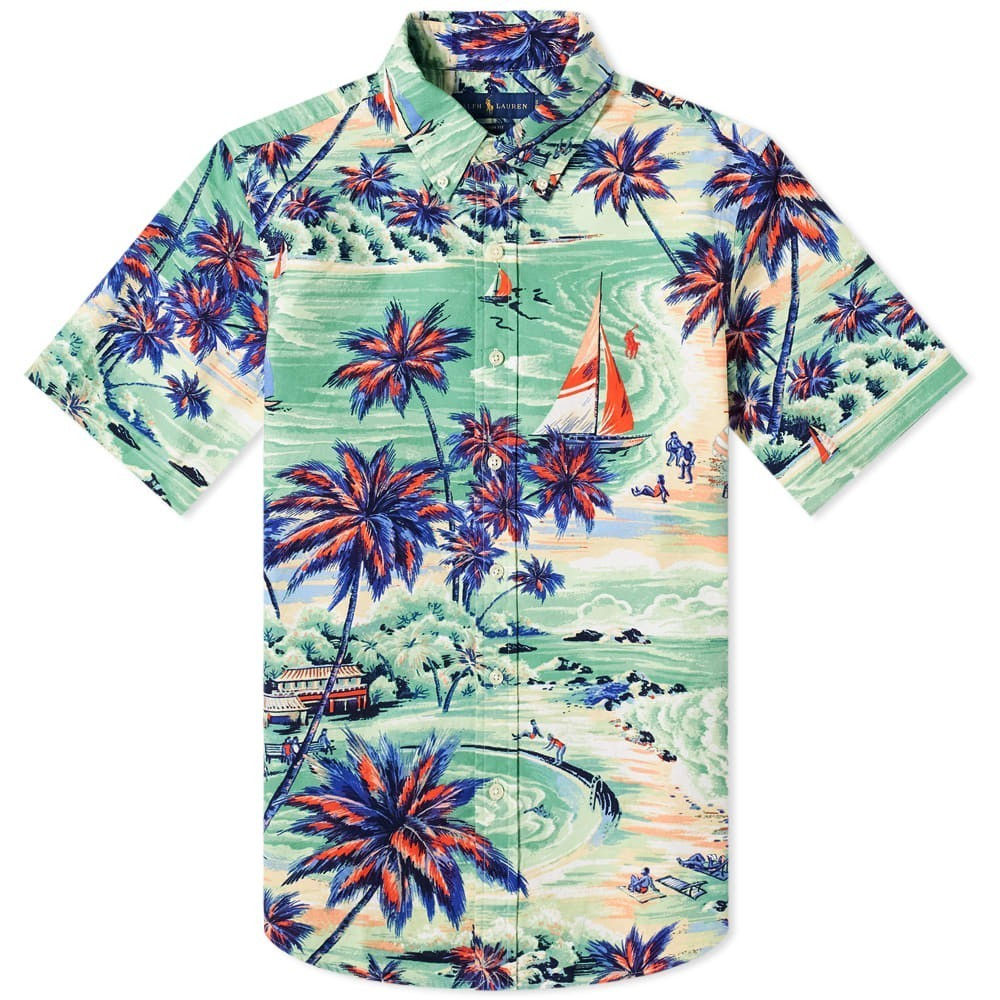 Photo: Polo Ralph Lauren Short Sleeve Hawaiian Beach Oxford Shirt