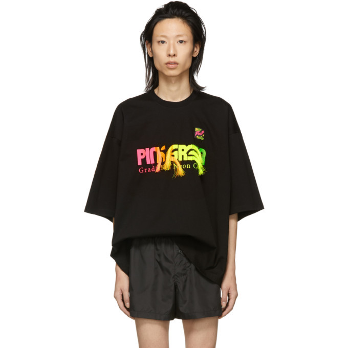 Photo: Doublet SSENSE Exclusive Black Gradation T-Shirt