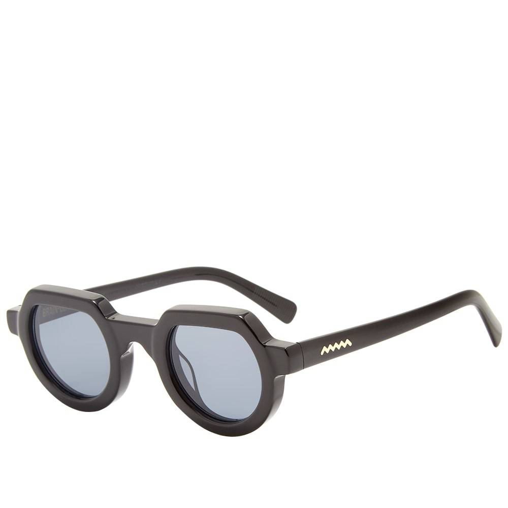 Brain Dead Tani Sunglasses Black & Black