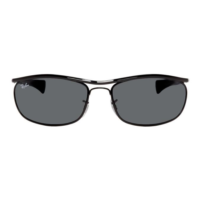 Photo: Ray-Ban Black Olympian I Deluxe Sunglasses