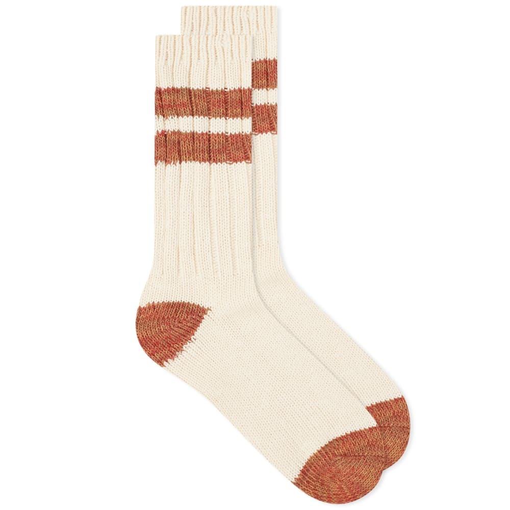 Photo: Corridor Slub Stripe Organic Socks