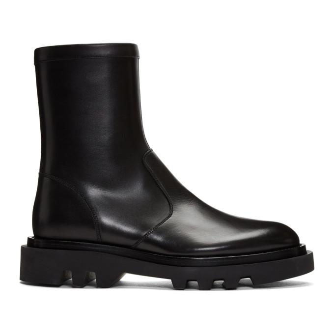 Photo: Givenchy Black Combat Boots